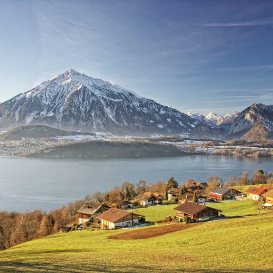 Village Alpes